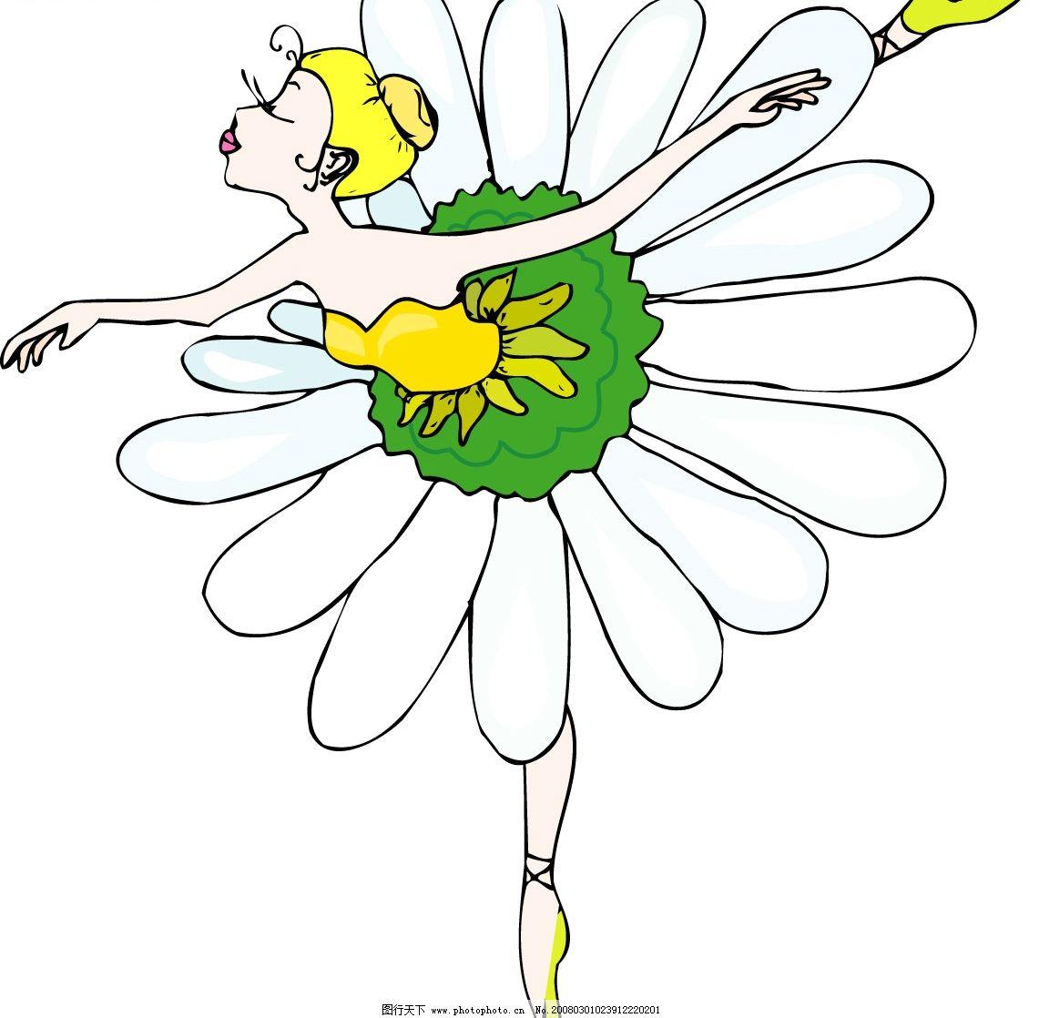 芭蕾舞动作1 cdr文件 可编辑 舞蹈 动作 彩色 形体 矢量人物 其他人物