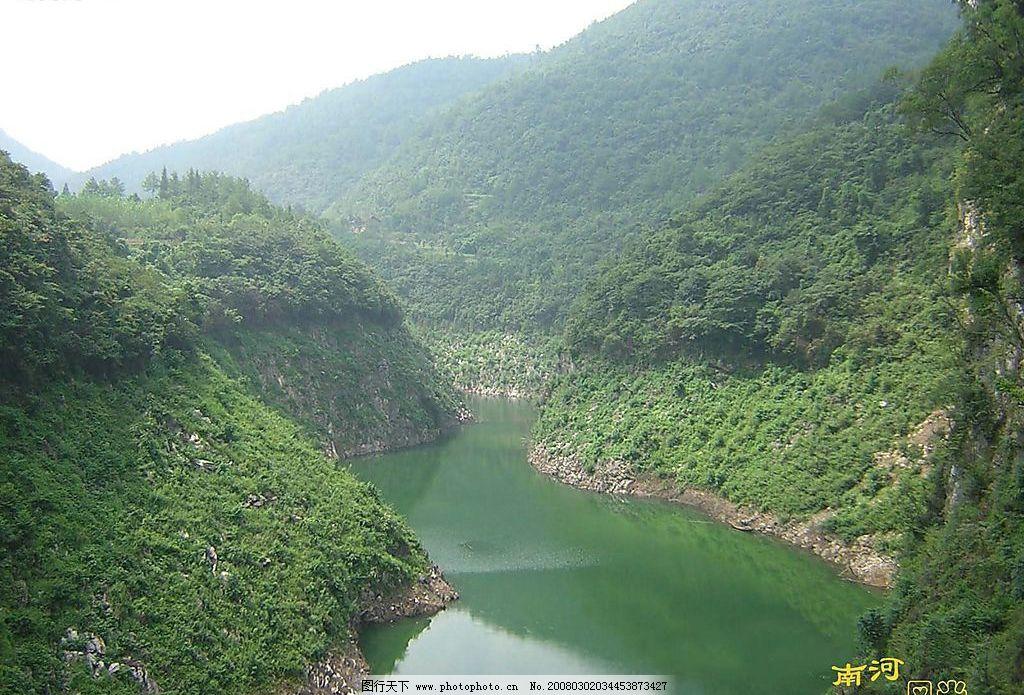 南河风景图片