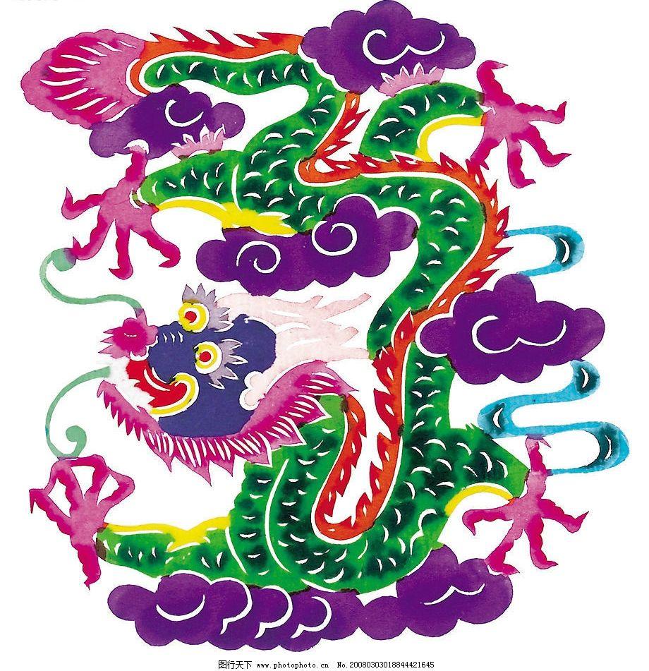 吉祥剪纸 动物 文化艺术 传统文化 设计图库 304 jpg