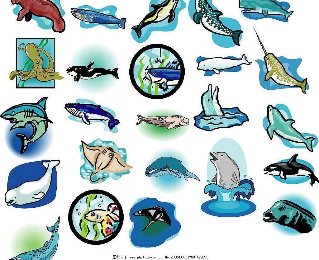 海洋生物228图片_其他_ui界面设计_图行天下图库