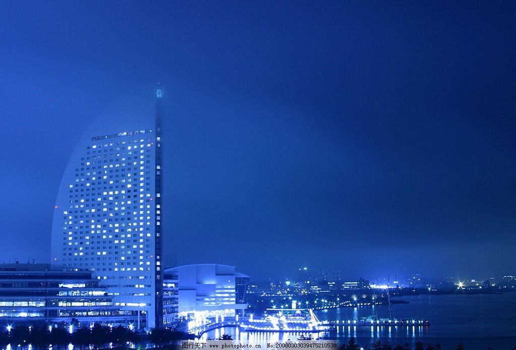 夜光城市图片