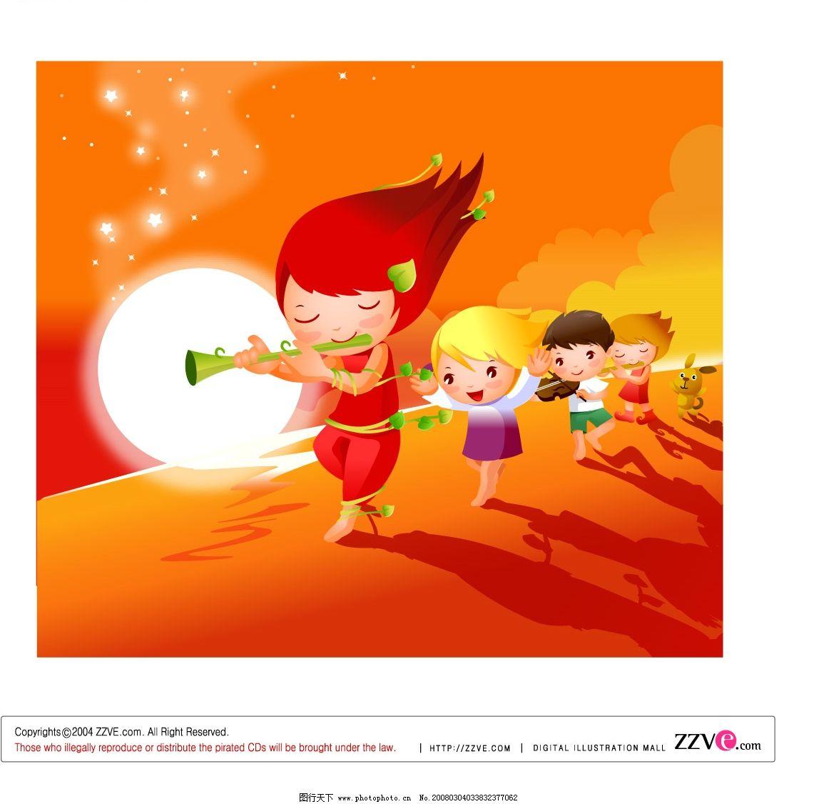 儿童/儿童唱歌图片