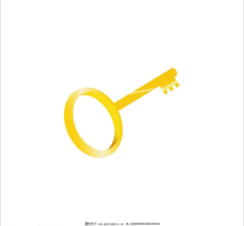 金钥匙 钥匙 其他矢量 矢量素材 cdr文件 矢量图库   cdr