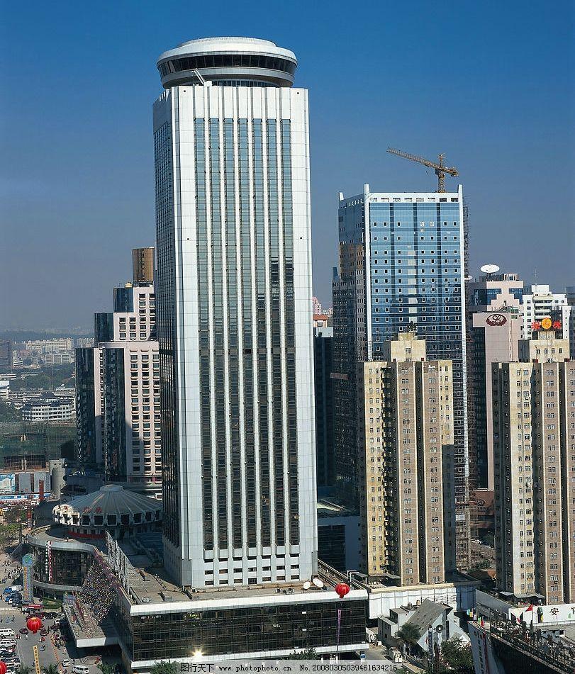 深圳城市素材,高楼大厦 建筑园林 建筑摄影 城市风景 摄影图库