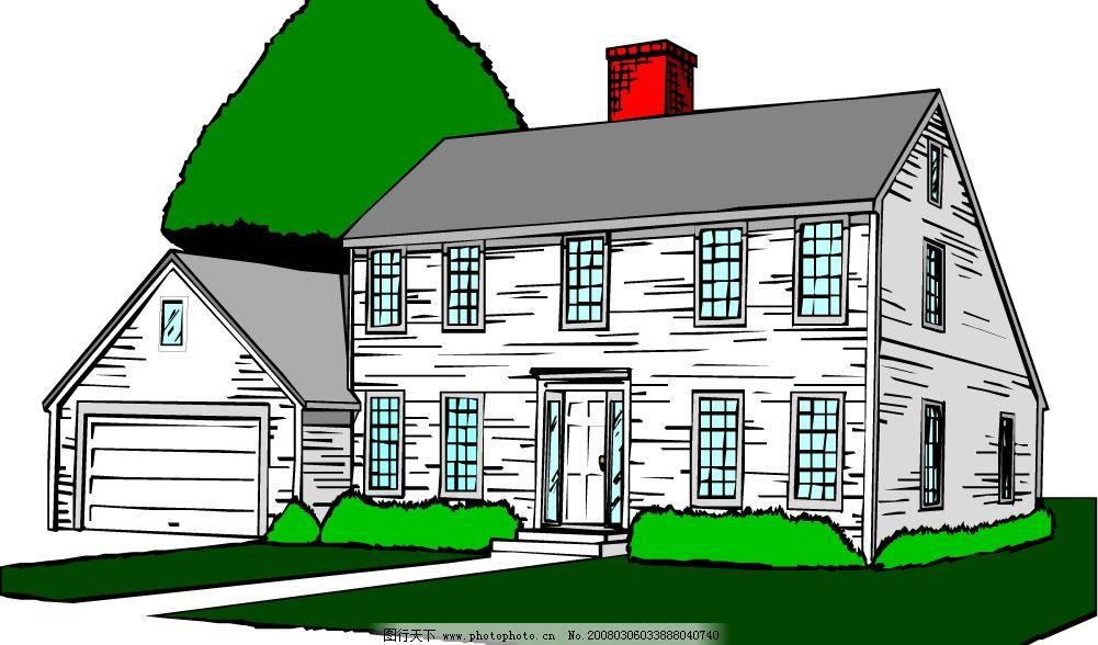 房子 矢量 其他矢量 矢量素材 矢量图库