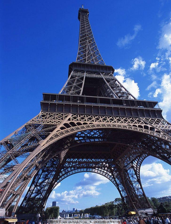 巴黎铁塔图片_建筑景观