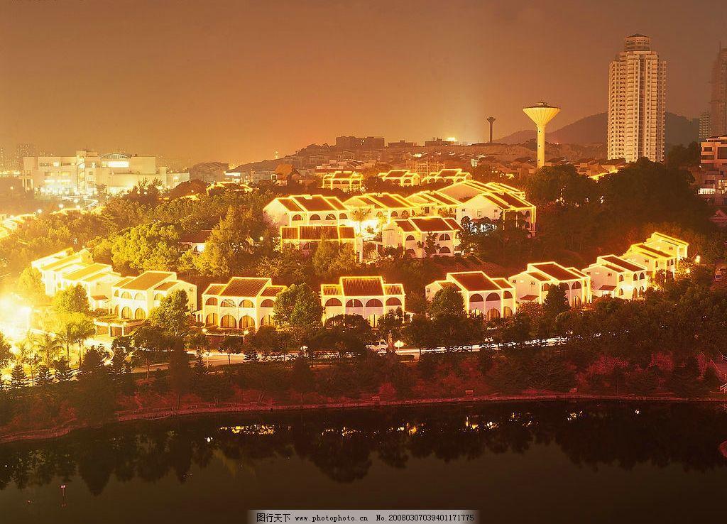 珠海城市素材 珠海夜景 建筑园林 建筑摄影 城市风景 摄影图库 300
