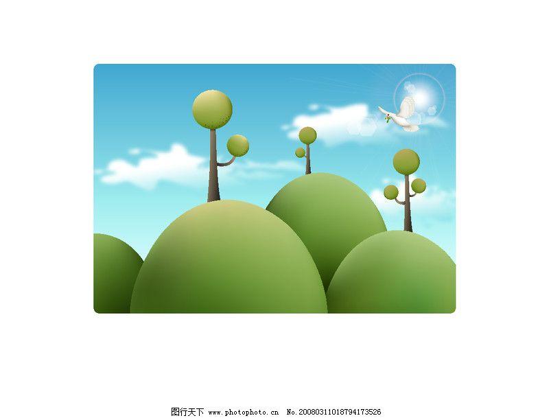 春天0041_可爱卡通_动漫卡通_图行天下图库