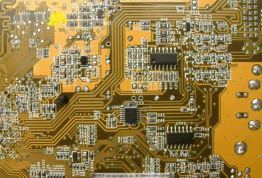 电路板 现代科技 其他 设计图库 72 jpg