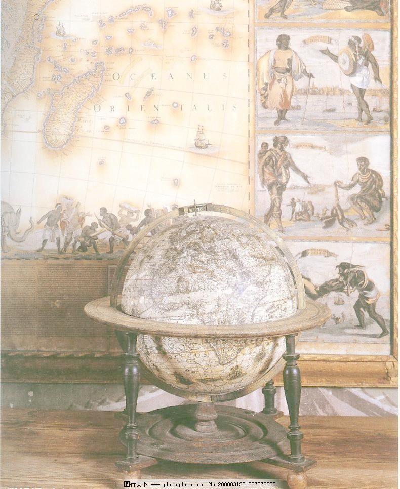 欧式地球仪图片_其他_装饰素材