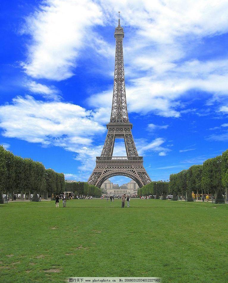 艾菲尔铁塔 巴黎 旅游摄影 国外旅游 摄影图库 72 jpg