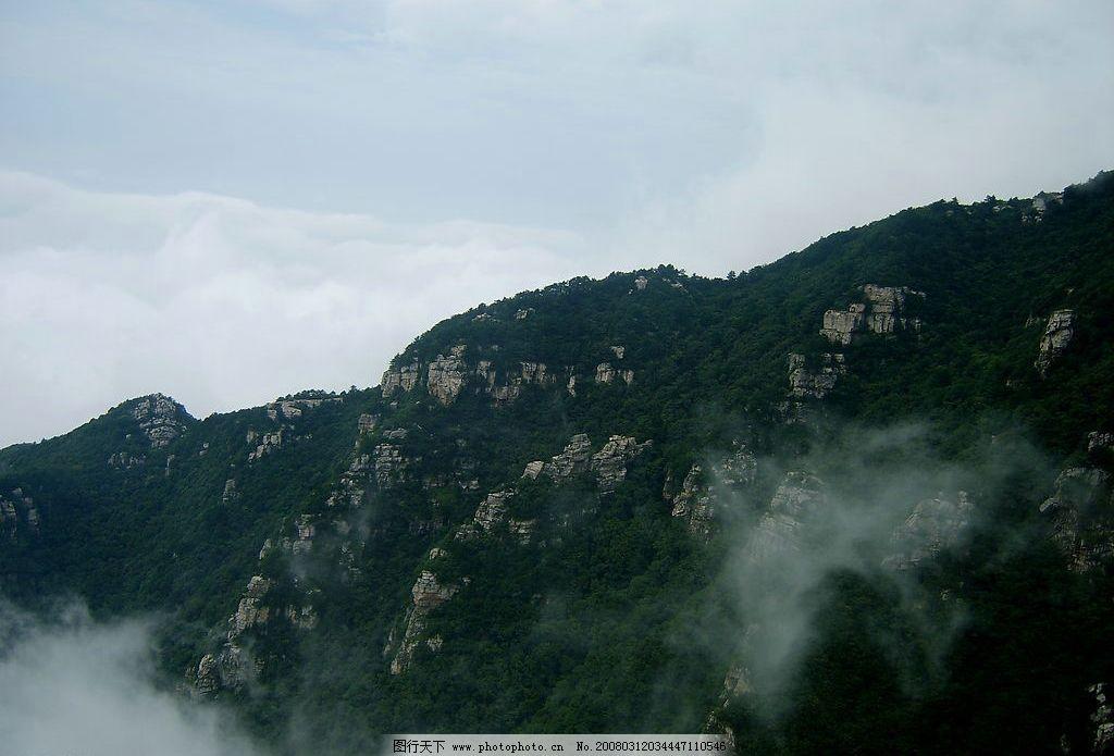 庐山风光 自然景观 山水风景 山 中国名山 庐山 锦绣谷 云雾 森林