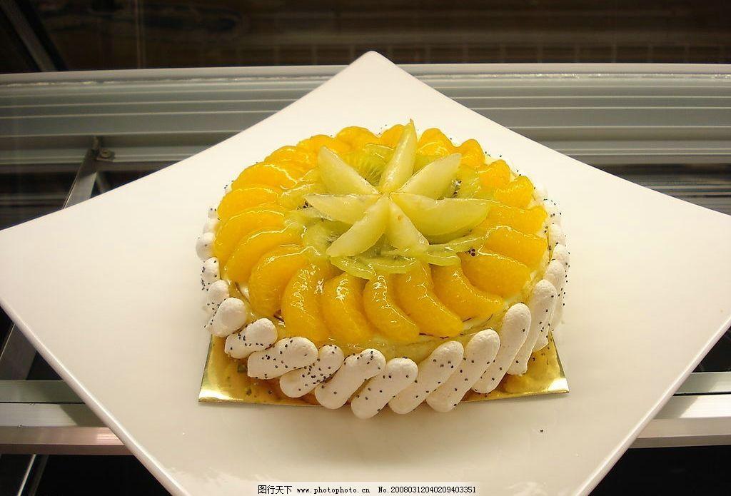 芒果蛋糕图片