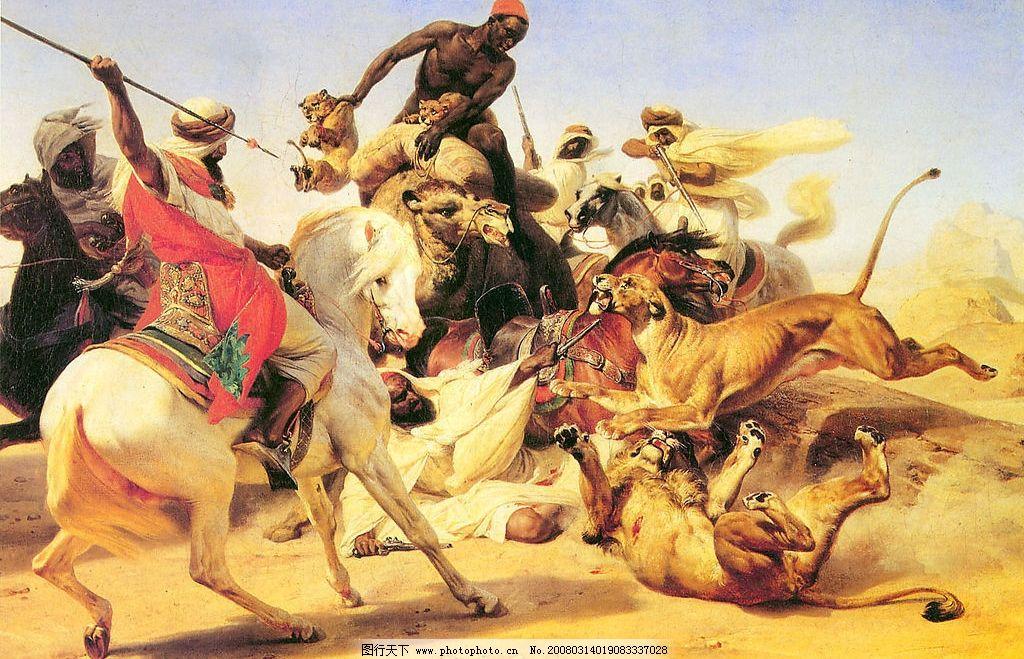 十九世纪欧洲绘画 油画 西方 文化艺术 美术绘画 摄影图库 180 jpg