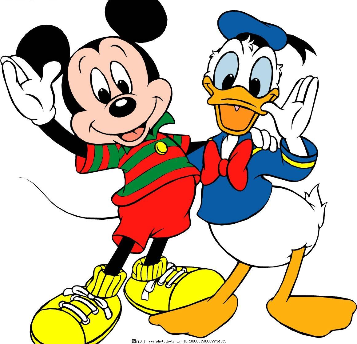 可爱 米老鼠图片