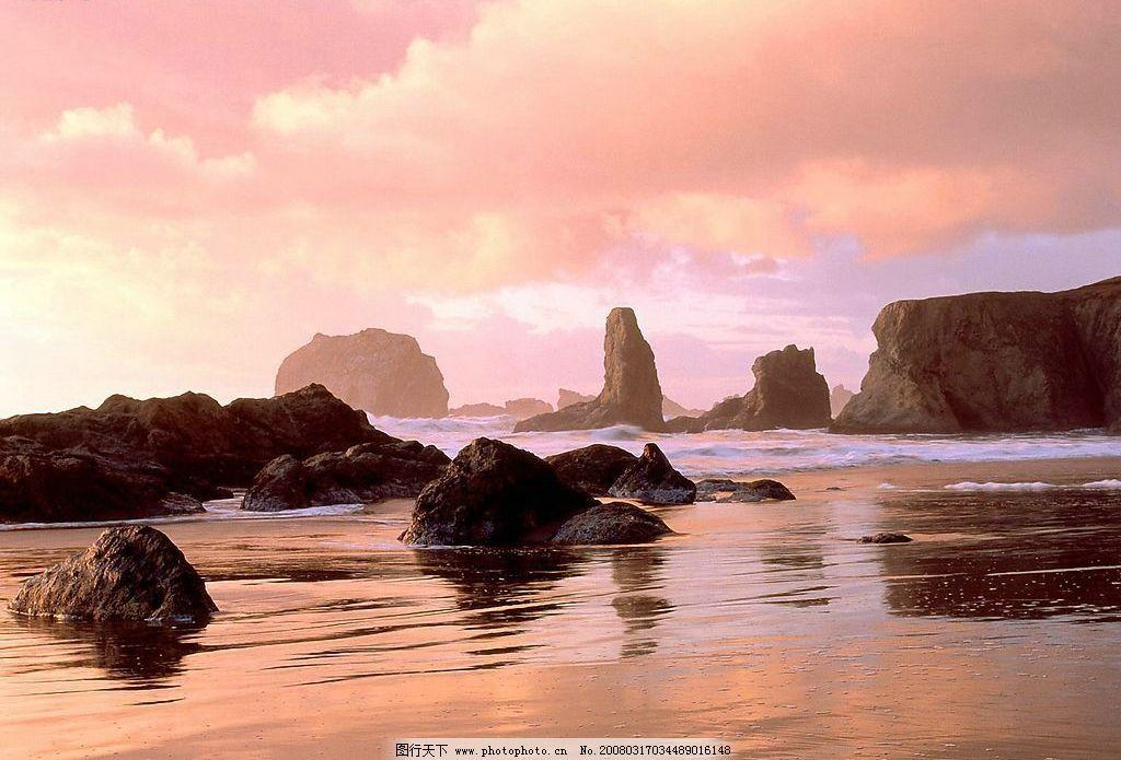 海边古迹云彩 古迹 云彩 海边 自然景观 山水风景 世界风光壁纸 摄影