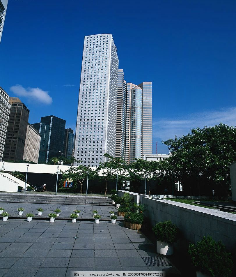 珠海城市风景,珠海高楼大厦图片