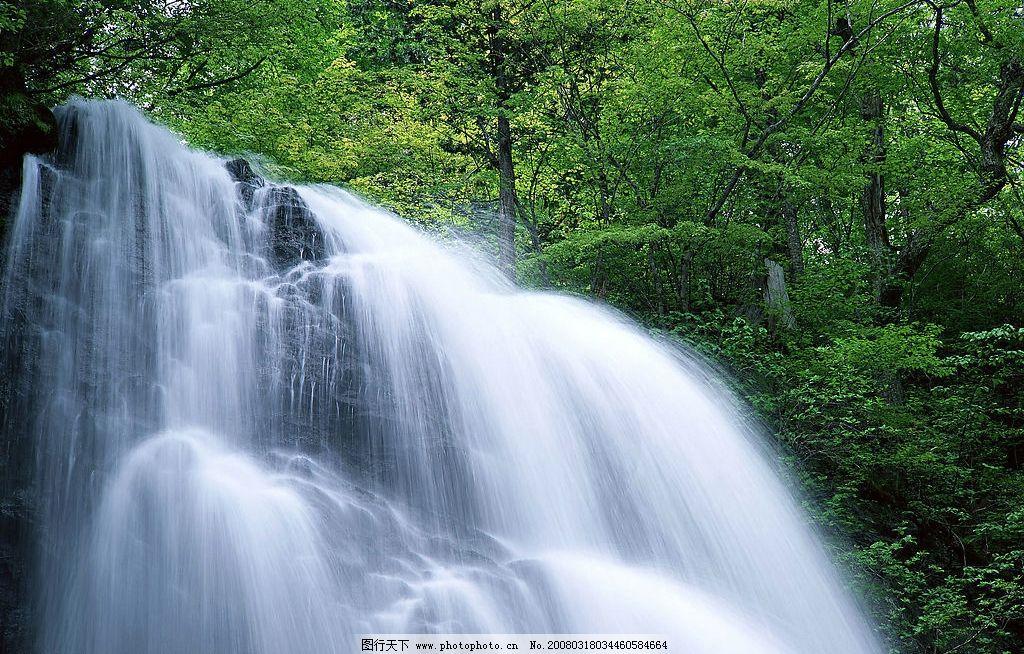 溪流水源 小溪 水景 风景 自然景观 山水风景 摄影图库 350 jpg