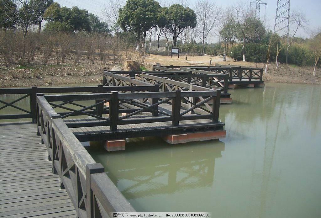 九曲桥 桥 水 自然景观 自然风景 风景 摄影图库 72 jpg