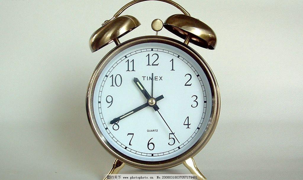 钟表 闹铃 闹钟 钟表世界生活百科 生活素材 摄影图库 350dpi 生活