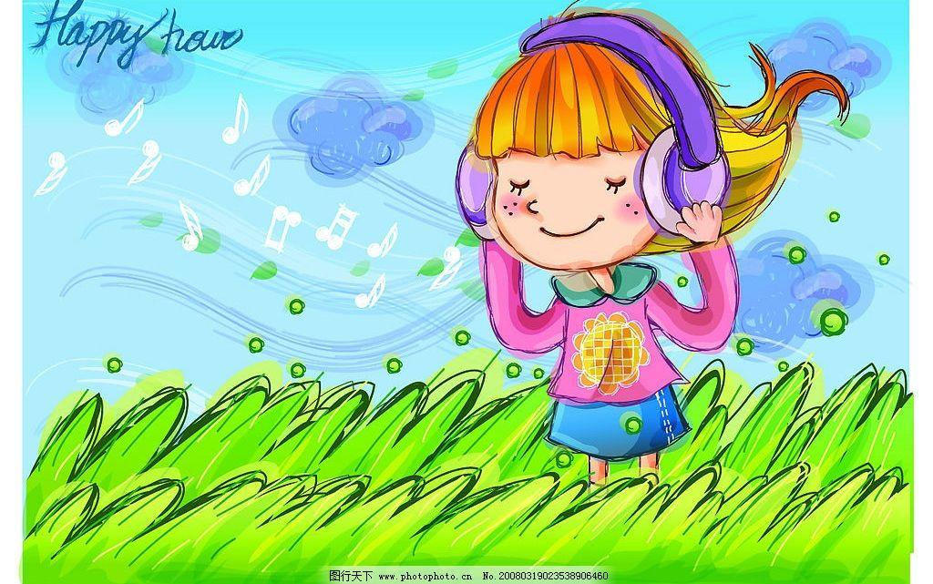 可爱男女卡通图图片_儿童幼儿