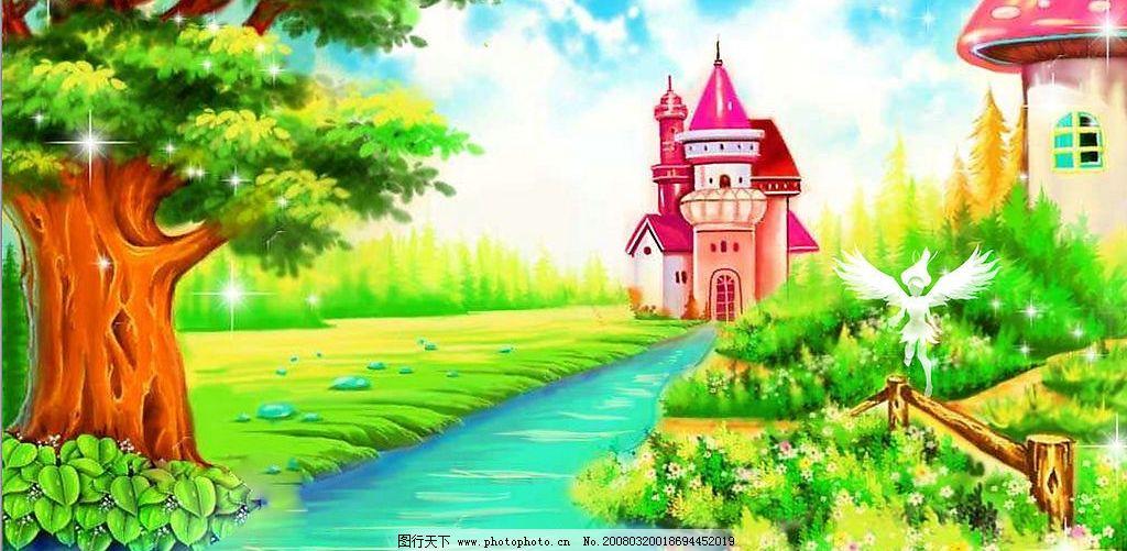 童话 童话里的城堡 动漫动画 其他     设计图库 300 jpg