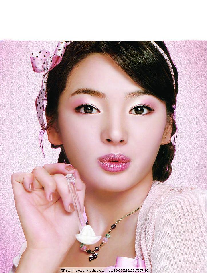 宋慧乔图片,韩国女明星 化妆品广告-图行天下图库