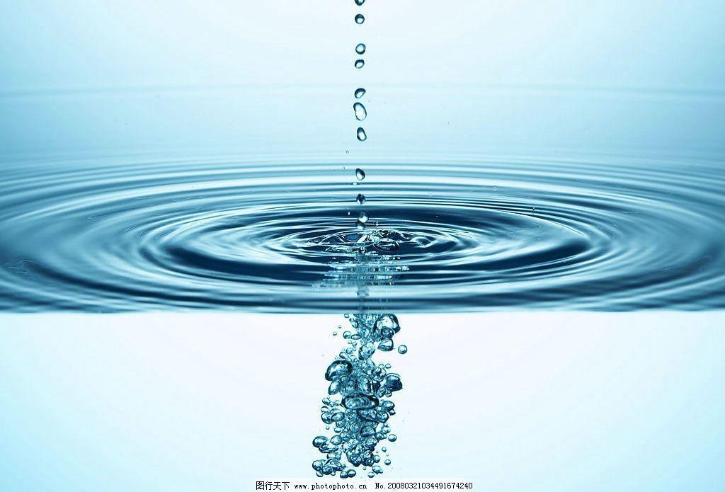 极品水纹水滴 水纹水滴 自然景观 山水风景 摄影图库 350 jpg