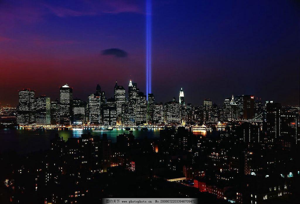 城市夜景 全景图片 宽幅图片 城市的黄昏景色 城市夜色 夜晚景色