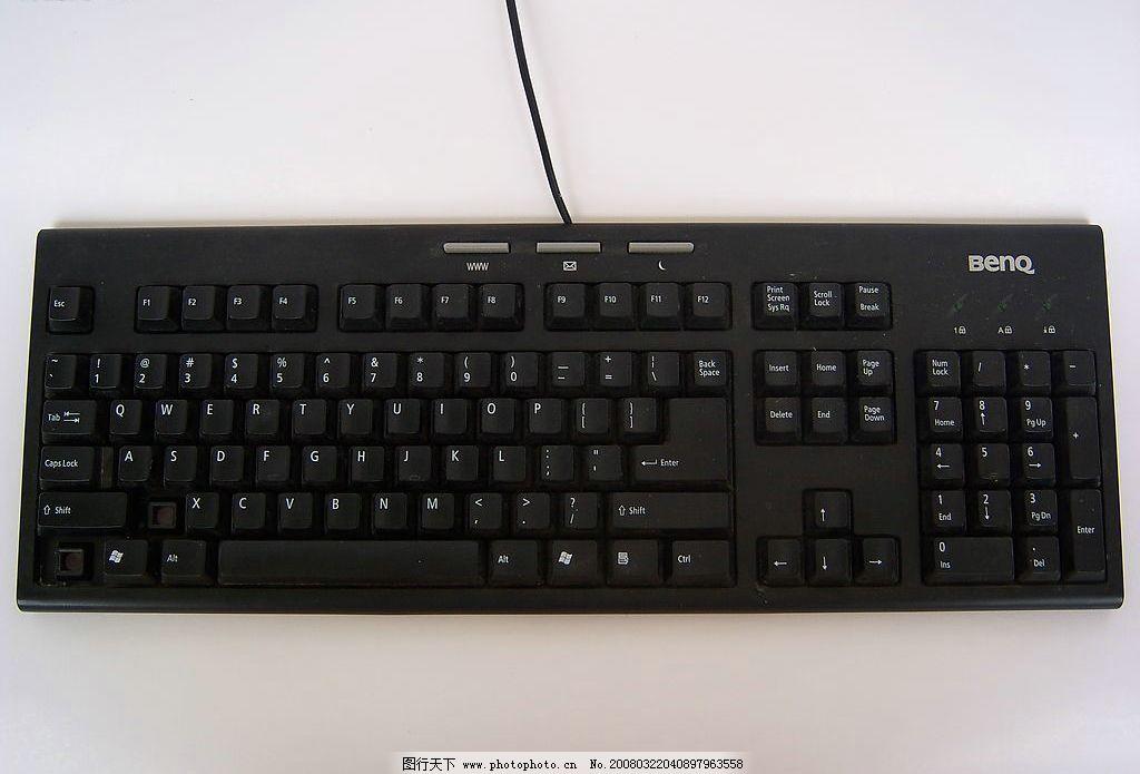 键盘 pc 电脑 黑色 其他 图片素材 摄影图库 480 jpg