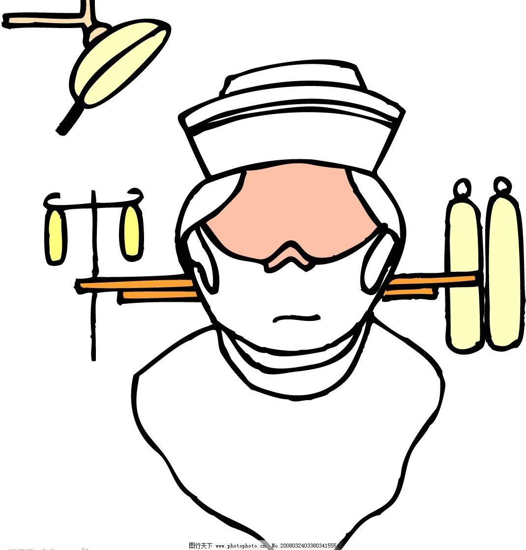 医生 患者 人物 其他矢量 矢量素材 医疗器械 矢量图库   eps