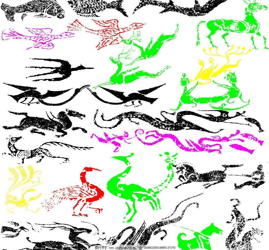 动物线条1 矢量图库
