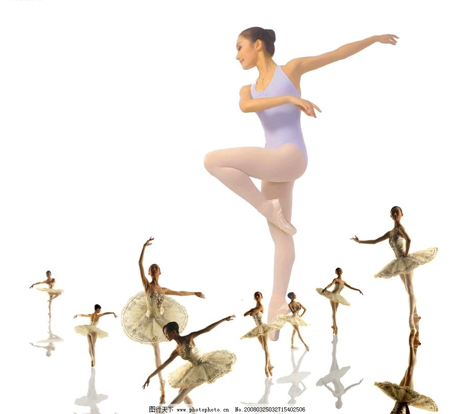 芭蕾舞者 芭蕾 舞蹈 psd分层素材 人物 源文件库   psd