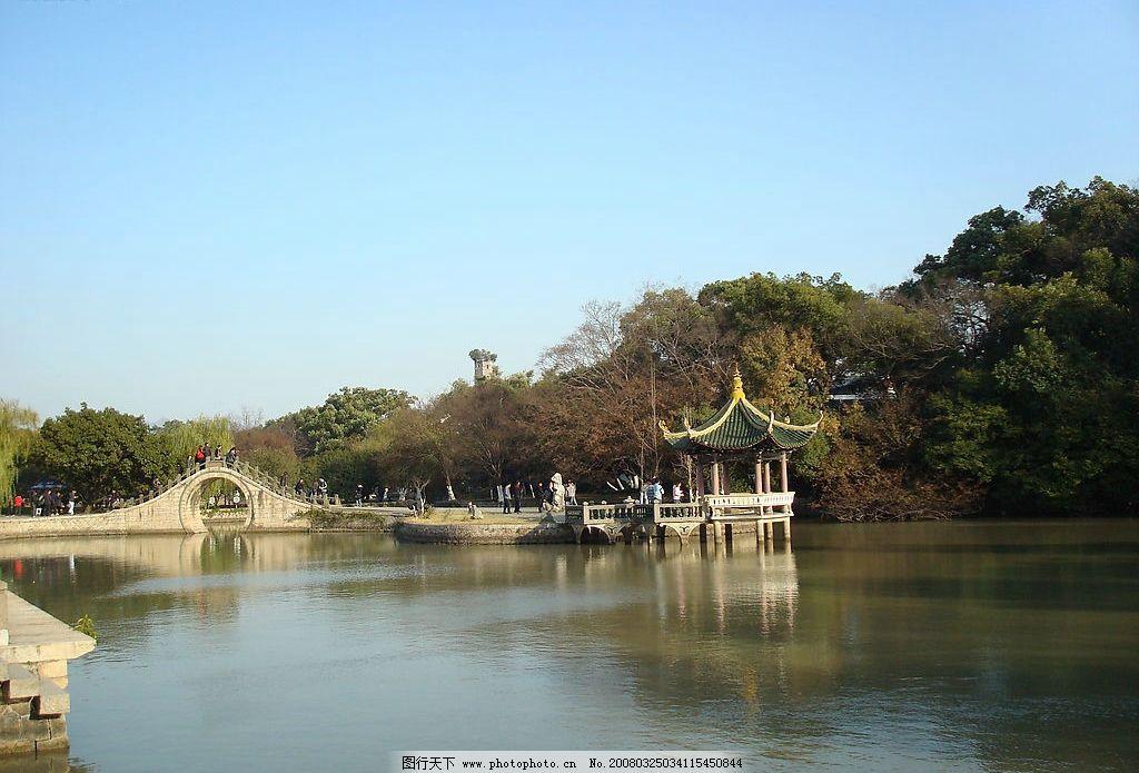 温州江心屿 岛屿 园林 山水 旅游摄影 山水风景 摄影图库