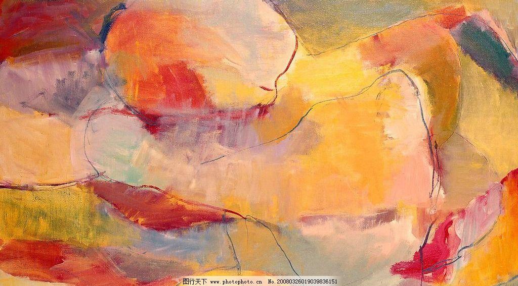 抽象艺术绘画