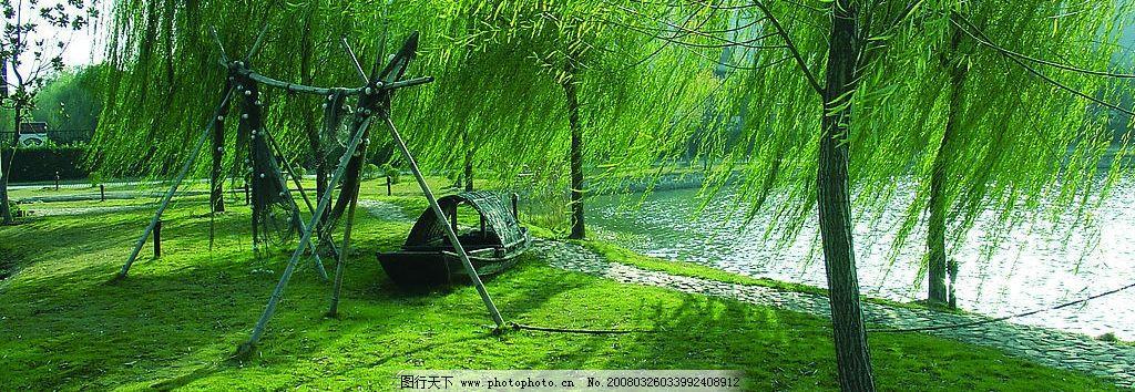 天目湖杨柳 天目湖 风景 旅游 山水 湖水 度假 柳树 旅游摄影 国内