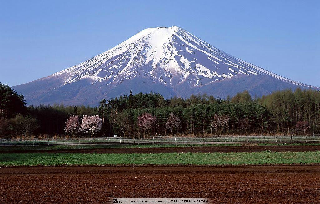 日本�z%�_日本富士山图片