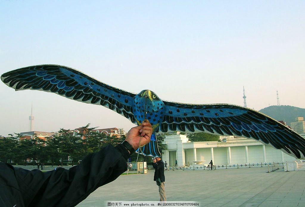 风筝(老鹰) 风筝老鹰 风筝老鹰准备起飞 自然景观 自然风景 原创摄影