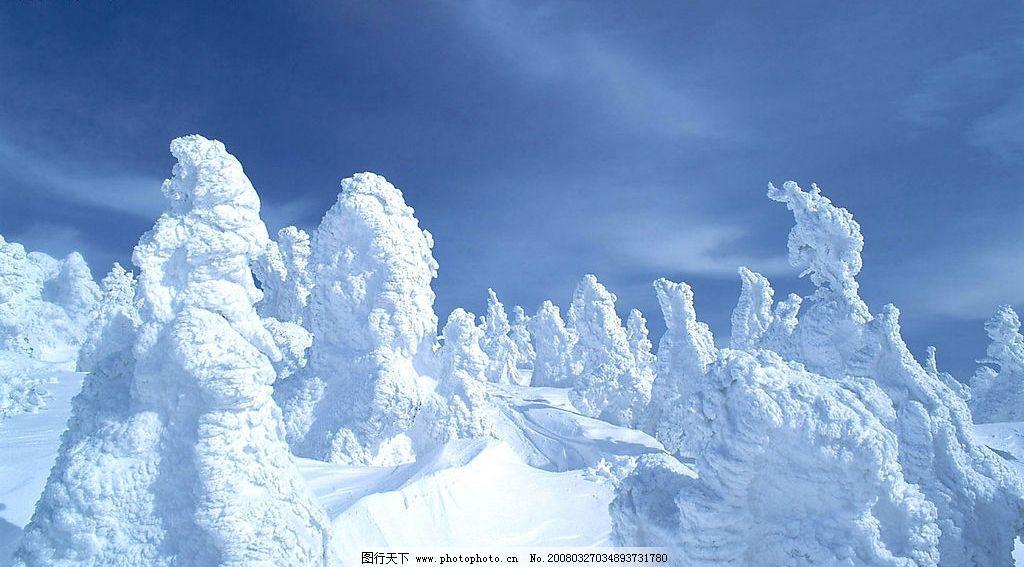 冬景壁纸 自然 风景 摄影图库