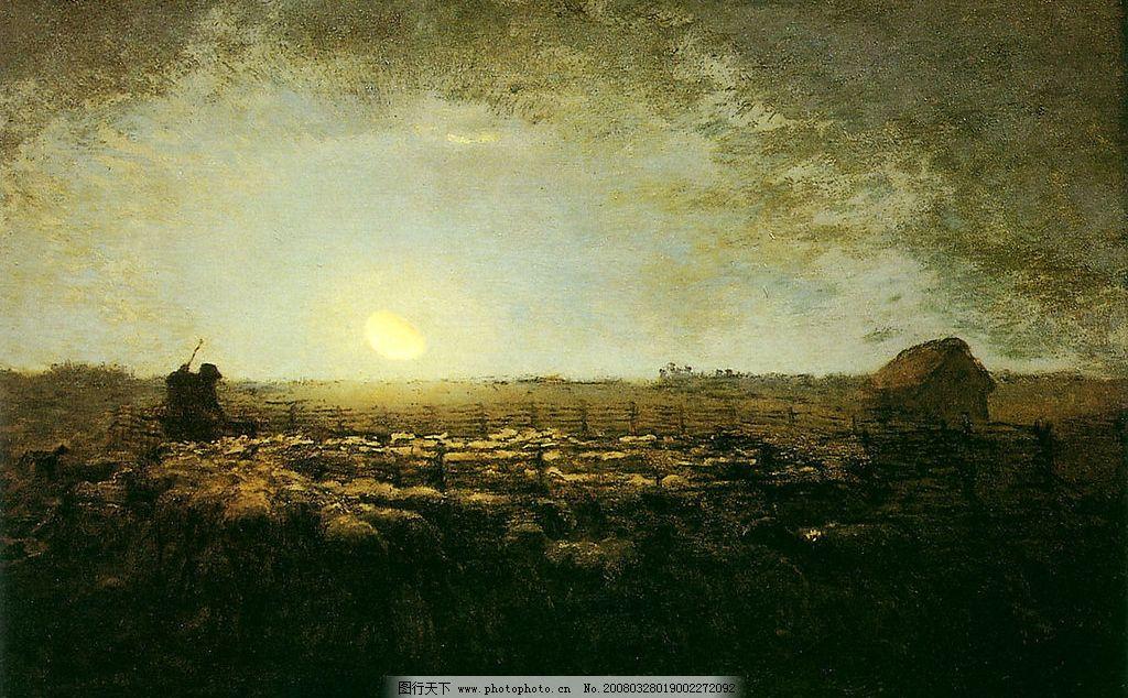 西方绘画 十九世纪欧洲绘画 油画 文化艺术 绘画书法 设计图库 180