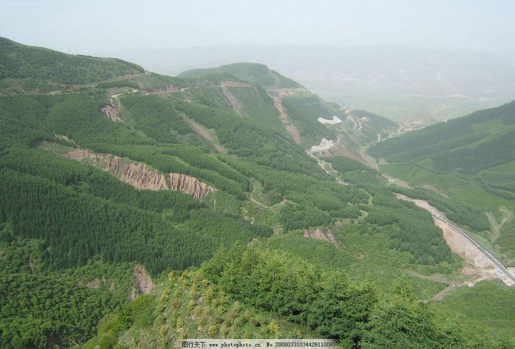 六盘山全景 六盘山 自然景观 山水风景 摄影图库 72 jpg