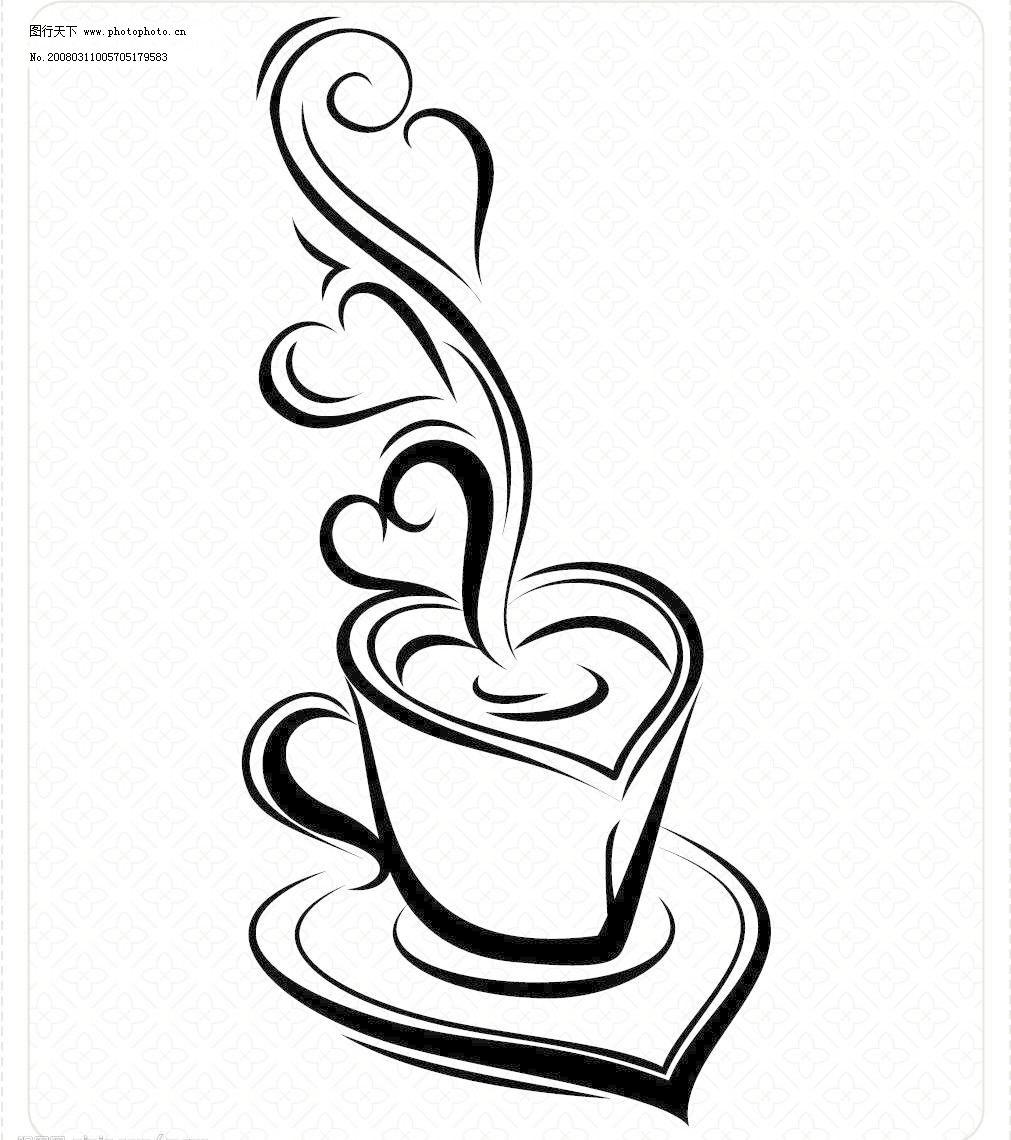 咖啡杯图片免费下载,AI,咖啡杯矢量素材,生活百科,生活用品,矢量咖啡杯,矢量图库